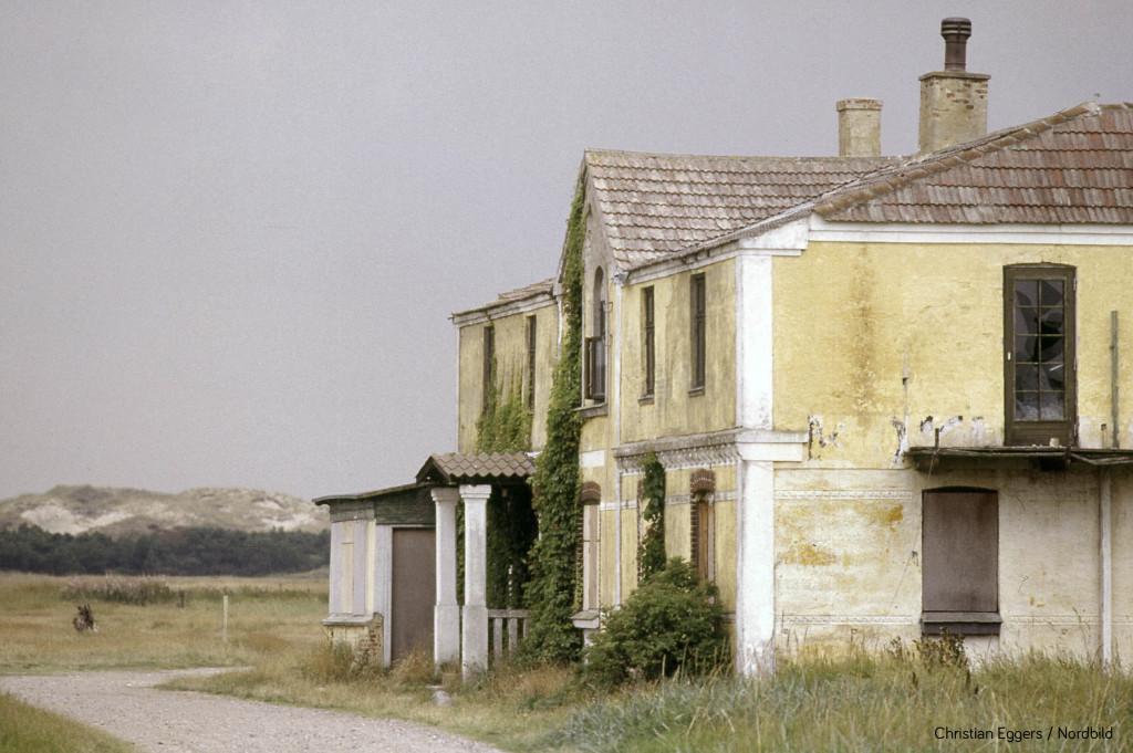 1988: Verlassenes Hote bei Skagen in Dänemark